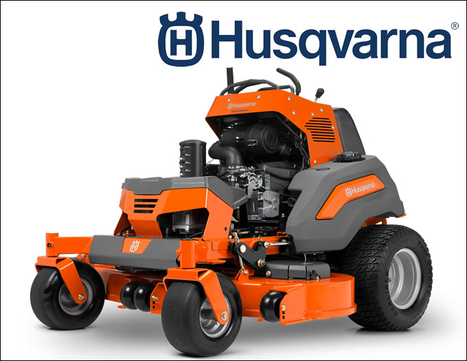 Commerical Husqvarna Stand On Zero Turn V554